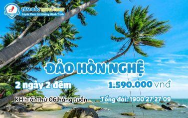 Tour du lịch Hòn Nghệ - Vịnh Hạ Long Phương Nam 2 ngày 2 đêm