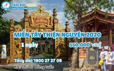 Tour du lịch  Miền Tây thiện nguyện 1 ngày chất lượng giá rẻ