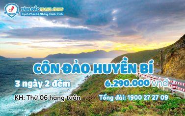 Tour du lịch Côn Đảo huyền thoại 3 ngày 2 đêm