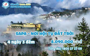 Tour du lịch Sapa 4 ngày 3 đêm giá rẻ chất lượng