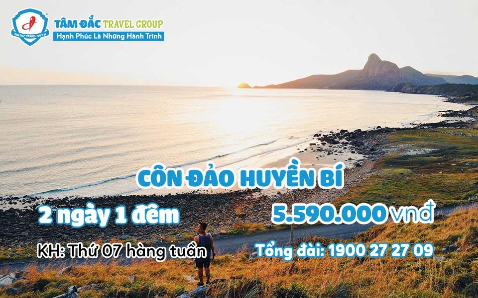Tour du lịch Côn Đảo 2 ngày 1 đêm giá rẻ chất lượng